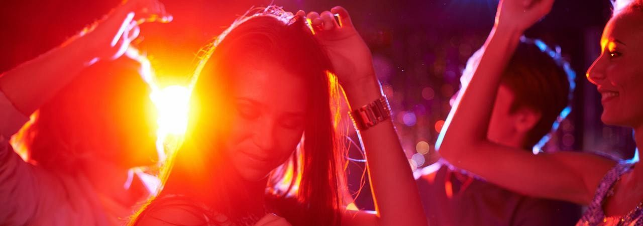 Night clubbing with your Hen party
