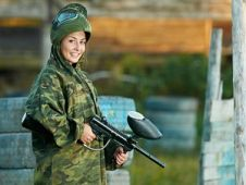 Hen Party Paintballing